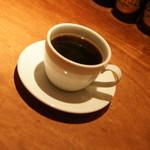 LA COCORICO上野の森さくらテラス店/COCORICO DELI - パスタプレート(1,200円→食べログワンコインランチ価格500円+税)の『ホットコーヒー』2016年12月