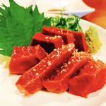 おでんのでん - 和牛ハート刺し!!新鮮、食感も良くて旨い♡