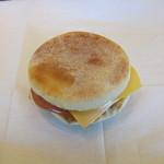 マクドナルド - 料理写真:「エッグマックマフィン」です。
