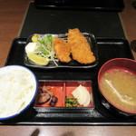 59859616 - 「金目鯛とアジフライ定食」(¥990)