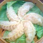 梅江飯店 - 上海蟹入の蒸し餃子