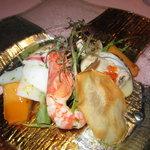 貴匠桜 - 海の幸たっぷりサラダ