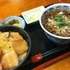 巴屋 - 料理写真:豚丼と蕎麦