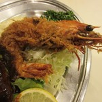 レストラン桂 - 大海老、その通り