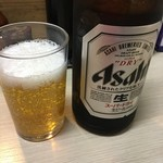 江戸政 - 瓶ビール450円