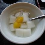 和唐 - 杏仁豆腐 中華の後は、やんわりした甘さが良い