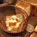 パンのかおり - 食パンの試食
