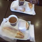 パンのかおり - 料理写真:今日のラインナップ