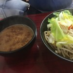 満菜 - 新 豚骨魚介つけ麺