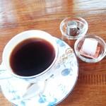 花カフェきゃろっと - 本日のコーヒー(旬のブレンド胡桃)450円 2016/10