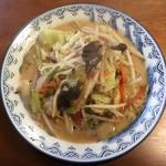 59865851 - 麺が春雨ヘルシーちゃんぽん、990円です。