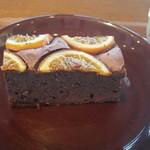 ネイバーフッド アンド コーヒー - オレンジブラウニー