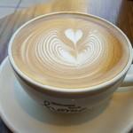 ネイバーフッド アンド コーヒー - ホームメイドバニララテ