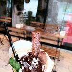 クレープアンドカフェ ヴァーチュ - 料理写真:ショコラDEショコラ 650円 2016/10