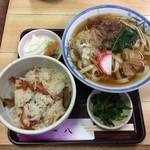 一八 - きしめん定食¥700