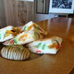 タロカフェ - 野菜サンド