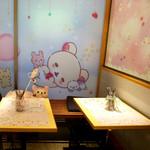 HARAJUKU BOX CAFE&SPACE - 店内 座ったお席です♫