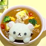 HARAJUKU BOX CAFE&SPACE - コリラックマグラタンカレー¥1380