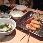 せいちゃん - 串カツも明石焼も美味しかったよ