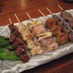 くしまる - 料理写真:串の盛り合わせ