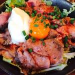 59871778 - ローストビーフ丼定食