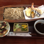 蕎麦 さいとう - 料理写真:Bセット 980円