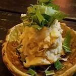 生姜料理 しょうが - 明太クリームチーズのポテサラ 2016.11