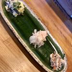 とんかつ ひやま - 前菜です。とても美味しかった(≧∀≦)