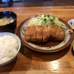 とんかつ ひやま - ロースカツ大セット2160円