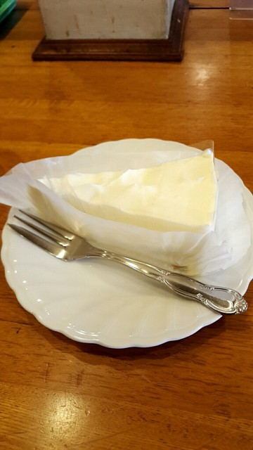 モカ - レアチーズケーキ