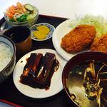 とんとんHOUSE - コロッケのランチ(ご飯半分で注文)680円