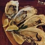 59876706 - 焼き牡蠣(昆布森)2粒:500円×2