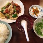 59877409 - 豚肉とキャベツ味噌炒め/¥650