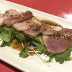 桜の藩 - 鴨肉のハム