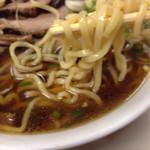 味の大西 - ぷりピロ麺
