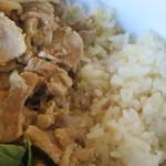 カフェ クロスロード - 豚肉とライス