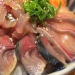 鮮魚・お食事処 山正 - 五色丼