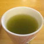 こまち茶屋 - 抹茶入り煎茶アップ