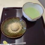 59883012 - (2016/11月)わらび餅とお抹茶
