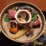 海のしょうげつ - 料理写真:前菜です。