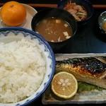 どんぶり - 鯖塩焼き定食