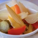 ハングリータイガー - 野菜の自家製ピクルス