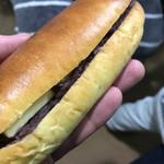 フクロウパン - あんバターサンド