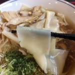 食彩遊膳 まる梅 - 幅広帯麺アップ