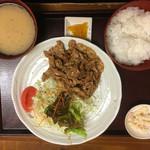 たすいち - 生姜焼き定食