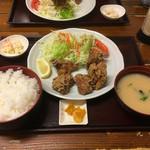 たすいち - 唐揚げ定食780円  ごはん大盛り