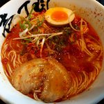 壱丁目ラーメン - 料理写真:炎の極から麺:680円