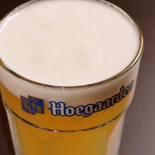 ◆稲沢では珍しい「ヒューガルデン」をご用意しております♪