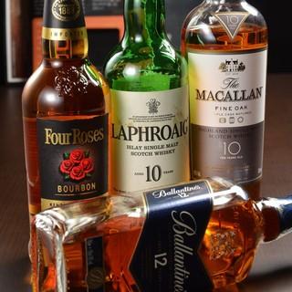 ◆なんといってもお酒の種類が豊富です♪