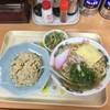 毎日食堂 - 料理写真:ラーメンチャーハンセット(税込750円)